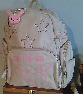 Authentic Sanrio USAHANA Premium Quilted  Backpack Stunning NWT