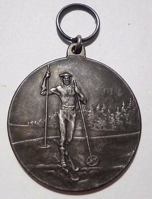 Antique  MEDAL  SILVER .830  SPORRONG & CO.Sweden 14.3 Grams Diameter 31mm