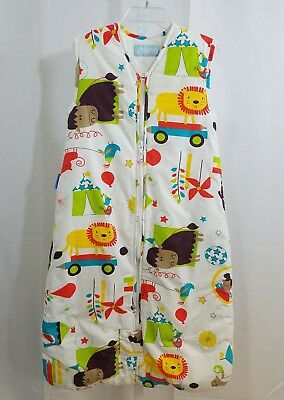 Grobag 6-18 month 2.5 tog sleep sack Animals Cotton Excellent Condition