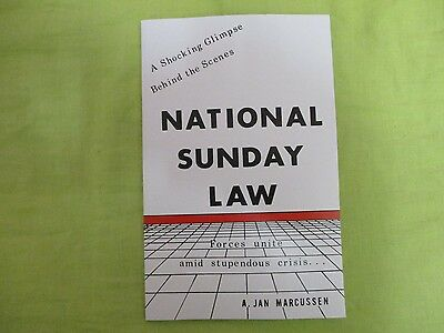 National Sunday Law~Mark Of The Beast~Bible Prophecy~New World Order