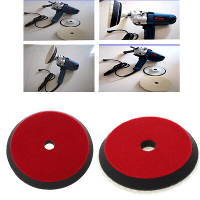 """6"""" 7"""" 14mm Auto Car Soft Wool Buffing Polishing Pad Detailing Mixed Color"""