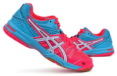 ASICS Gel-Rocket 7 Unisex Badminton Shoes Indoor Sports Diva Pink E455N-2001