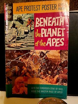 Gold-Key Comic Book 1970 Beneath The Planet OF The Apes Good Condition