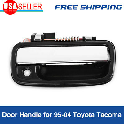 Exterior Door Handle for 95-04 Toyota Tacoma Chrome Front Right Passenger Side