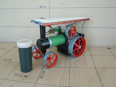 Classic & Collectable Live Steam Model Toy, Mamod TE1A, Runs well, Good Whistle.