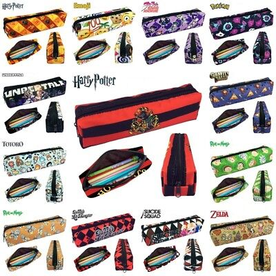 Pencil Case Various Designs Harry Potter for Boys Girls Kids Adult School Bags