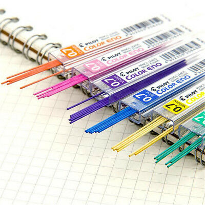 11 Colors Lead Refills Tube 0.7mm with Case for Mechanical Pencils Student Gift