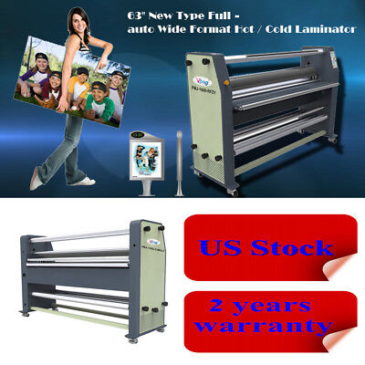 """US Stock FREE SHIPING 110V 63"""" High End Full - auto Wide Format Hot Laminator"""
