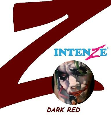 Intenze Ink 30ml Dark Red Tattoofarbe Tattoo Farbe Tätowierfarbe Tinte