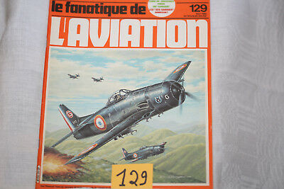 le fana de l'aviation-n°129-le Spitfire 23°-Grumman Bearcat 3°-8/80