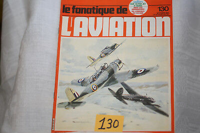 le fana de l'aviation-n°130-le Spitfire 24°-le Curtiss P40-9/80