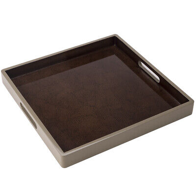 NEW Whitelaw & Newton Cappuccino Mosaic On Taupe Tray
