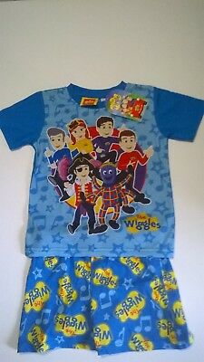 Wiggles / Summer P.J. Set / Boys / Sizes 1, 2, 3 And 4.