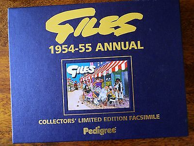 1954 Giles Annual Facsimile New With Slipcase And Cert