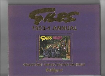 Giles Annual Facsimile 1953-54 New With Slip Case And Certificate