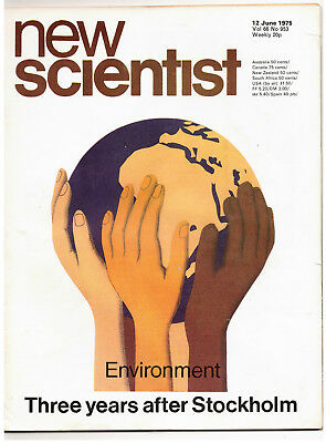 NEW SCIENTIST MAGAZINE 12 June 1975 The Environment and Stockholm