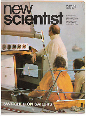 NEW SCIENTIST MAGAZINE 15  May 1975 Switched on Sailors