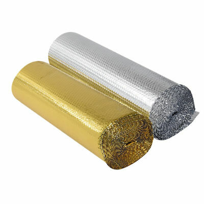 Loft Wall Insulation Double Foil Single Layer Air Bubble Wrap Roll 10 /25/40m UK