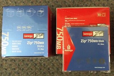 IOMEGA 750MB ZIP DISK (Pack of 10)