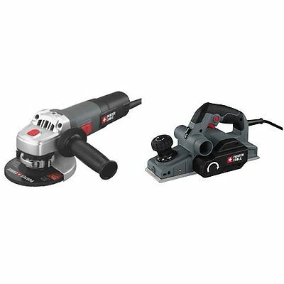 Grinders PORTER-CABLE PC60TAG 6.0-Amp 4-1/2-Inch Angle Grinder 6-Amp Hand Planer