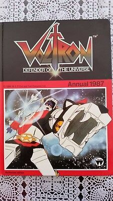 Voltron ~ Defender Of The Universe Annual 1987 ~ Ex Cond