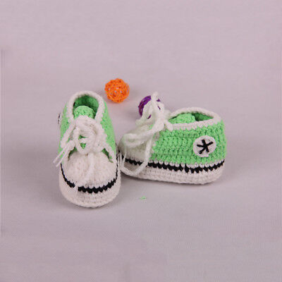 Baby Crochet Booties Knitted Socks Handmade Shoes For Infants
