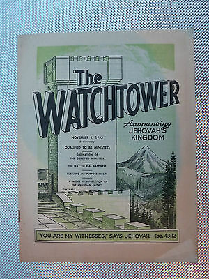 The Watchtower November 1 1955