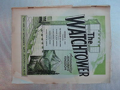 The Watchtower November 1 1954