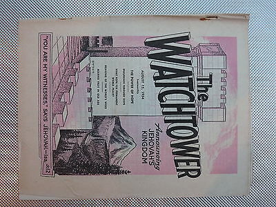 The Watchtower August 15 1954