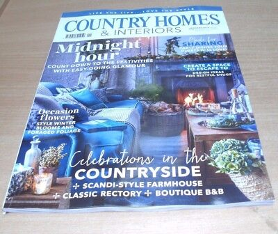 Country Homes & Interiors magazine JAN 2018 Space to Escape To, Scandi-Style, B&