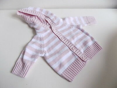 F&F girls stunning knitted cardigan Early baby  BNWT        al