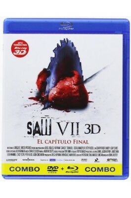 Saw 3D: The Final Chapter (Saw VII) (SAW 7 (COMBO BLU-RAY + DVD), Spain Import,