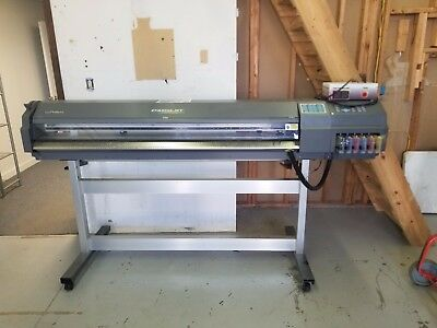"""Roland CJ-500 Eco Solvent Printer/Cutter - 50"""" Wide Upgraded to SC-500"""