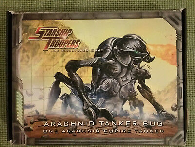 Starship Troopers Miniatures Game - Tanker Bug (new, on sprue, boxed)