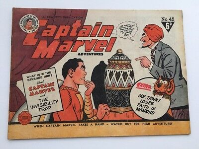 Captain Marvel Adventures 42