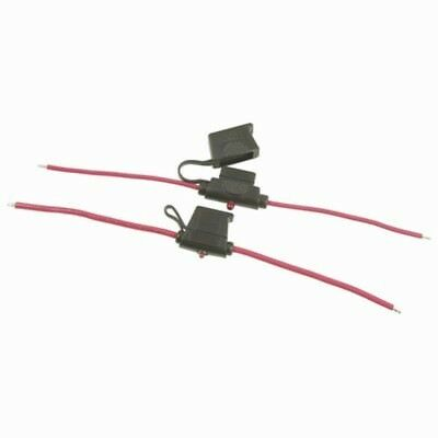 NEW 30A Blade Fuse Holder with Failure Lamp - Water Resistant SZ2043