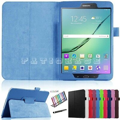 """Premium PU Leather Stand Case Cover For Samsung Galaxy Tab S2 9.7"""" T810 T815"""