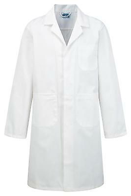 Lab Coat Professor Scientist Doctor Outfit Fancy Dress Costume - White or Blue