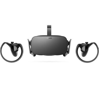 Oculus Rift & Touch Bundle Full Virtual Reality Experience At Home New Sealed