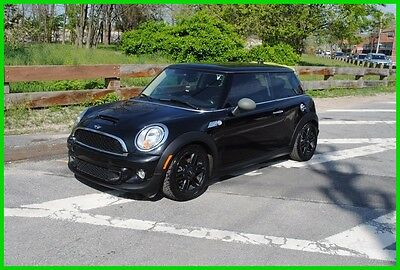 2013 Mini Hardtop Cooper S 6 Speed 6MT Manual Stick Shift Repairable Rebuildable Salvage Wrecked Runs Drives EZ Project Needs Fix Save Big