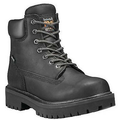 "Timberland Pro 26036 6"" Direct Attach WP Insulated Oil Resistant EH Work Boots"