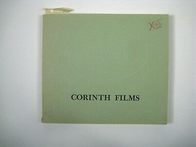 Corinth Films 1979 Paperback Catalog of Films Available for Rent