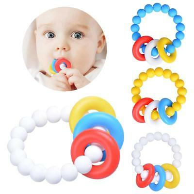 Soft Teeth Stick Teether Chew Toy For Kids Child Silicone Food Feeder OF
