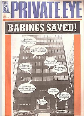 Private Eye Mag # 867 10 March 1995  Nick Leeson  Barings Bank  Singapore cover
