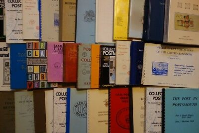 GB Philatelic Library. Nearly 40 Stamp and Postal History books!