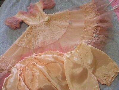 "1954 24-25"" Vintage American Character doll Sweet Sue Cotillion Dress & More"