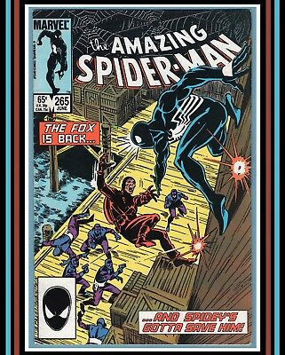 Amazing Spider-Man #265 *1st SiLVeR SaBLe* (Jun 1985) Marvel Comics | (VF 8.0)