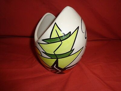 Rare Lorna Bailey The Limes Vase  Hand Painted and Signed