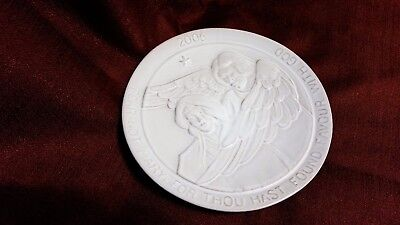 Frankoma  2006 Christmas Plate Fear Not Mary For Thou Hast Found Favour With God