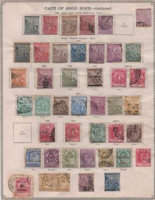 CAPE OF GOOD HOPE: 1882-1903 Examples - Ex-Old Time Collection - Page (12685)